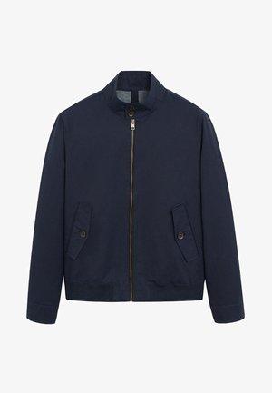 CARLES - Bomber Jacket - dunkles marineblau