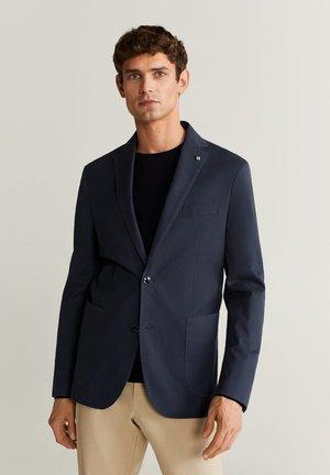 DAKAR - Blazer jacket - dunkles marineblau