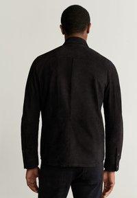 Mango - HARARE - Veste en cuir - black - 2