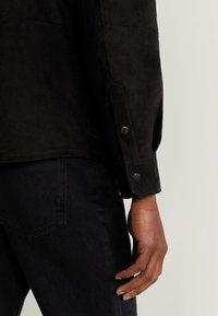 Mango - HARARE - Veste en cuir - black - 5