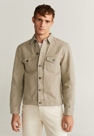 RYAN - Denim jacket - beige