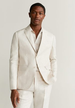 FLORIDA - Suit jacket - ecru