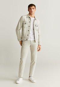 Mango - RYAN6 - Denim jacket - denim hellgrau - 1