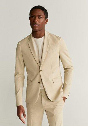 CIRCUTAK - Veste de costume - beige