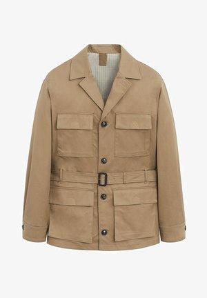 OSIER - Summer jacket - mittelbraun