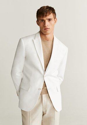 WHITE - Blazer jacket - white