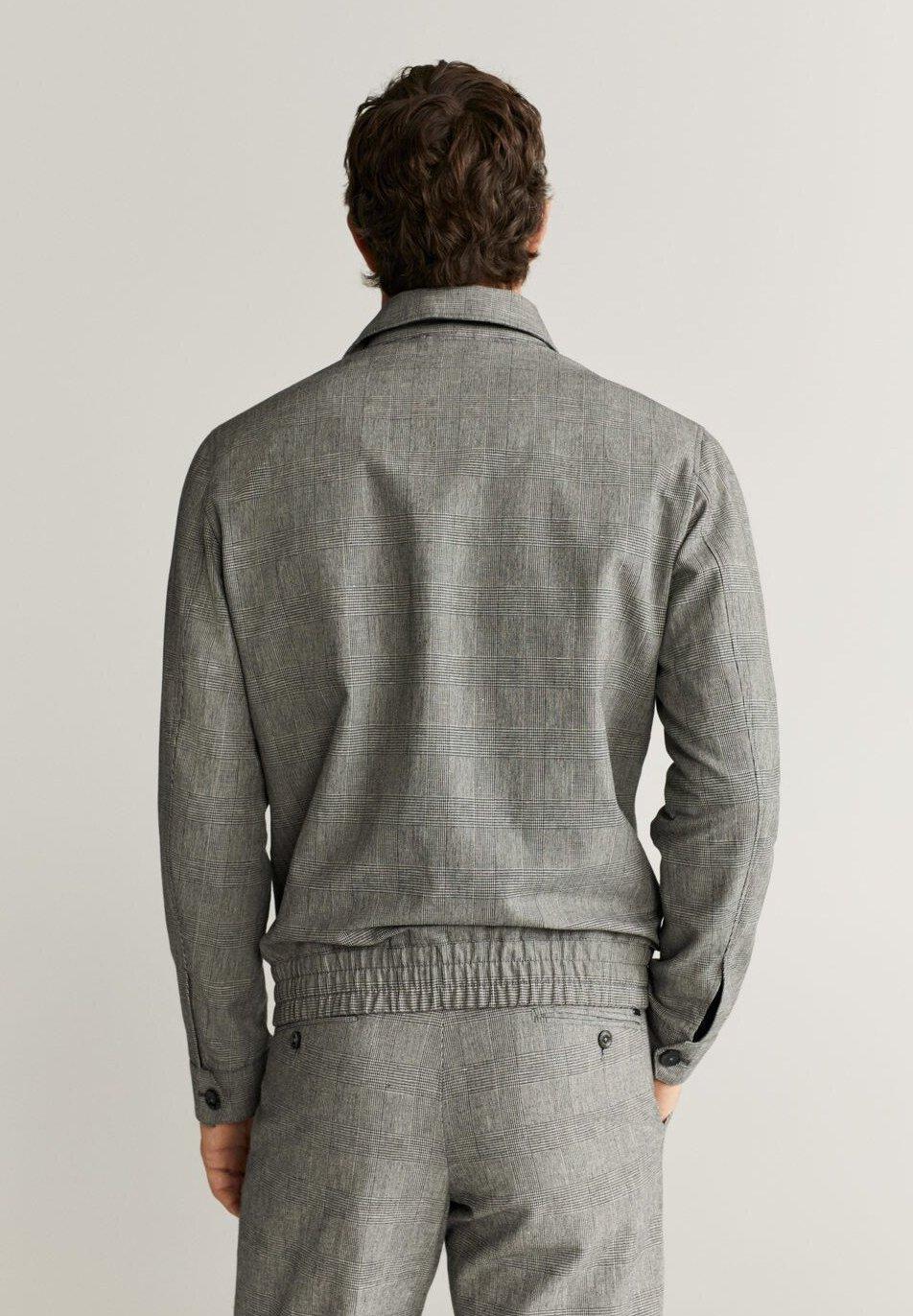 Mango BELAIR - Allvädersjacka - mittelgrau meliert - Herrkläder Rabatter