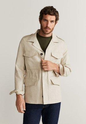 JUNGLE - Blazer jacket - beige