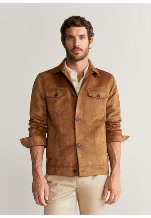KINSHASA - Summer jacket - kognac