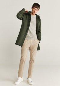 Mango - CHAYTON - Short coat - khaki - 1