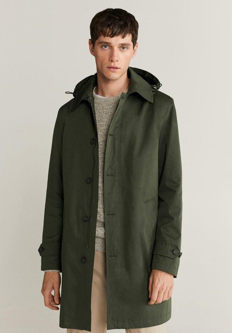 Mango - CHAYTON - Short coat - khaki