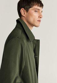 Mango - CHAYTON - Short coat - khaki - 4