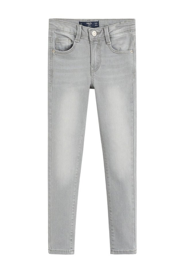 SKINNY JEANS - Jeans Skinny Fit - denim grau