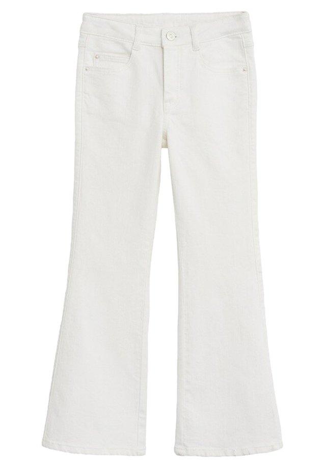FLARE - Flared jeans - hvid
