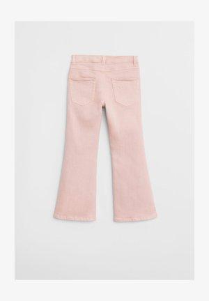 FLARE - Flared Jeans - lyserød