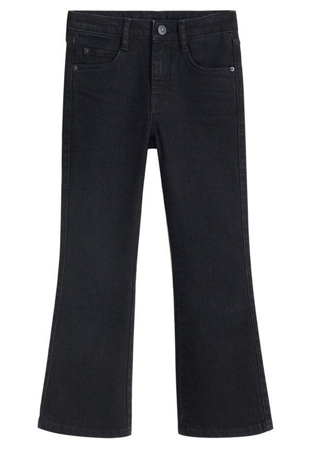 FLARE - Flared jeans - sort denim