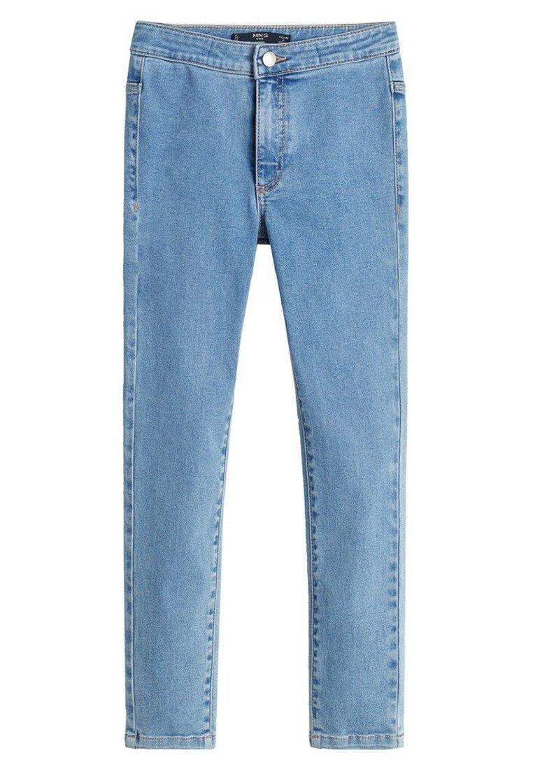 Mango - SUPER SKINNY JEANS - Jeans Skinny - hellblau