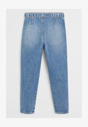 BAGGY - Slim fit jeans - mellemblå