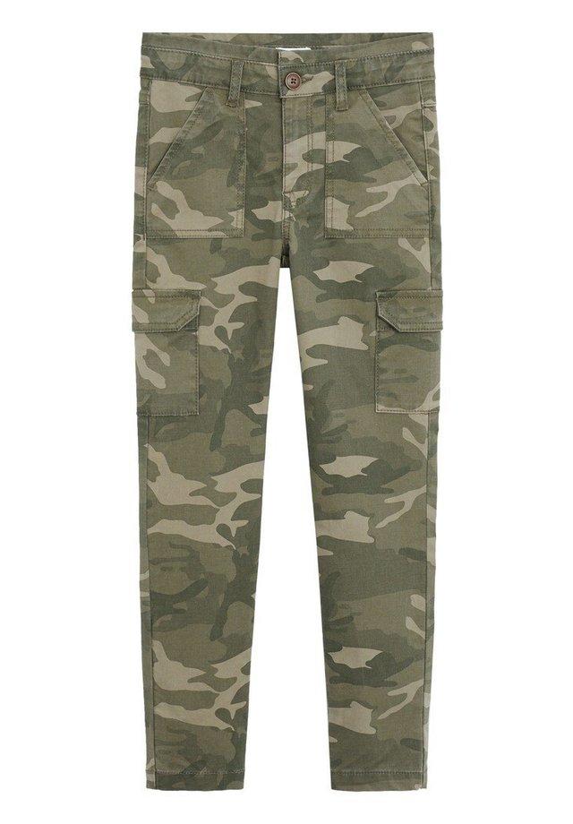 CAMU - Pantalon cargo - kaki