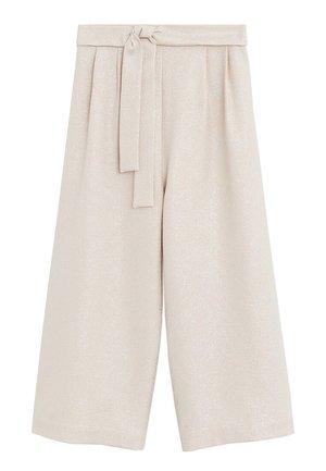CRISTAL - Pantalon classique - nude
