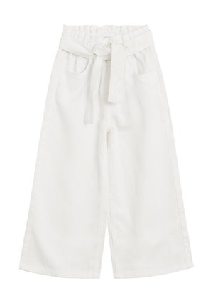 PAPER BAG - Trousers - blanc