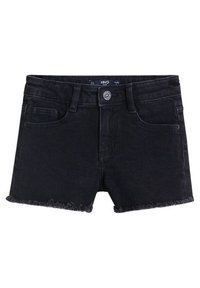 Mango - ISABEL - Jeansshort - black denim - 0