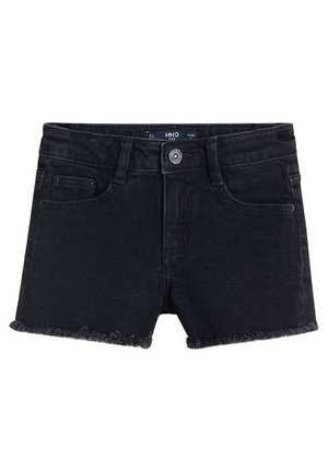 ISABEL - Jeansshort - black denim