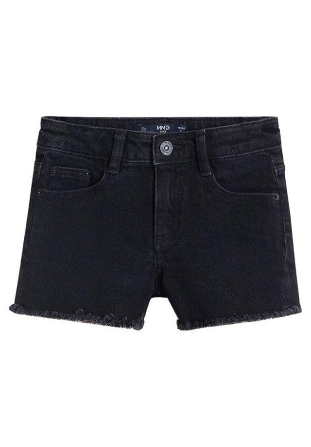 ISABEL - Jeansshort - black denim