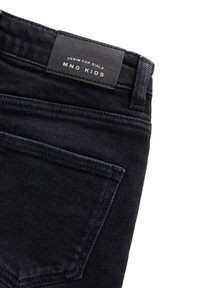 Mango - ISABEL - Jeansshort - black denim - 2
