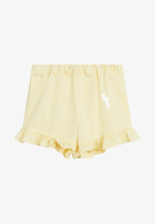 LUZ - Shorts - yellow