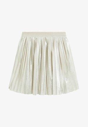 SUSAN - A-line skirt - gold
