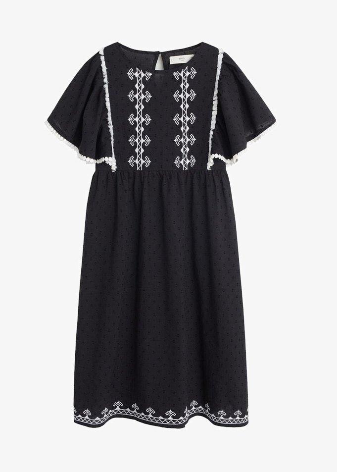 Mango - MADRID - Robe d'été - black
