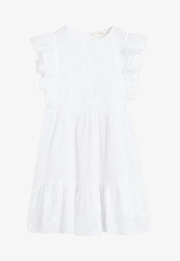 Mango - BLANC - Vestito estivo - white