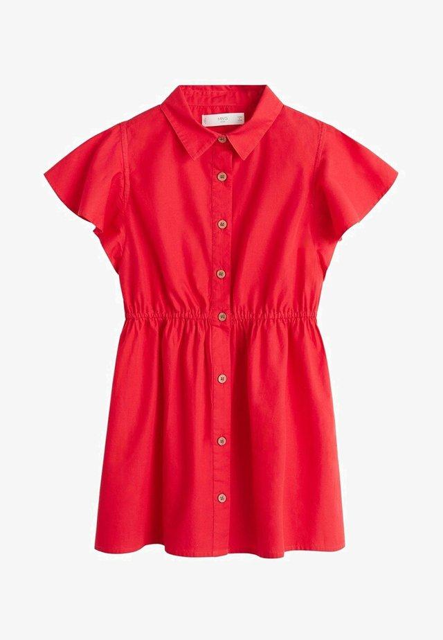 LAST - Abito a camicia - red