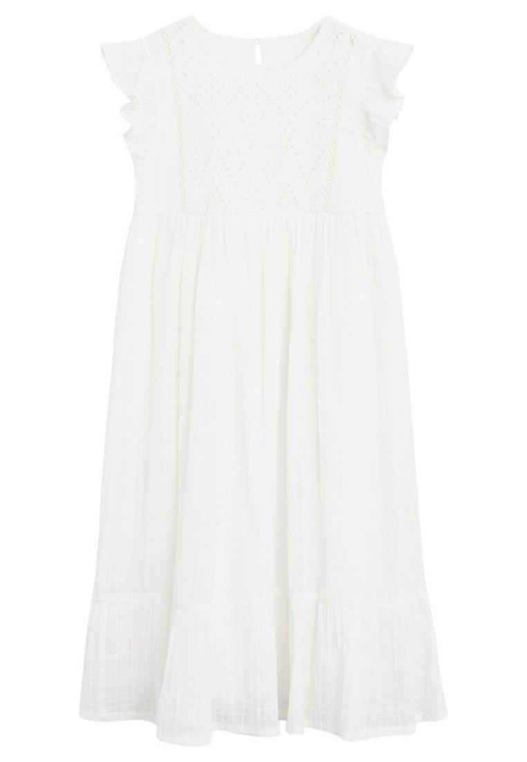 Mango - ROBE - Robe d'été - blanc