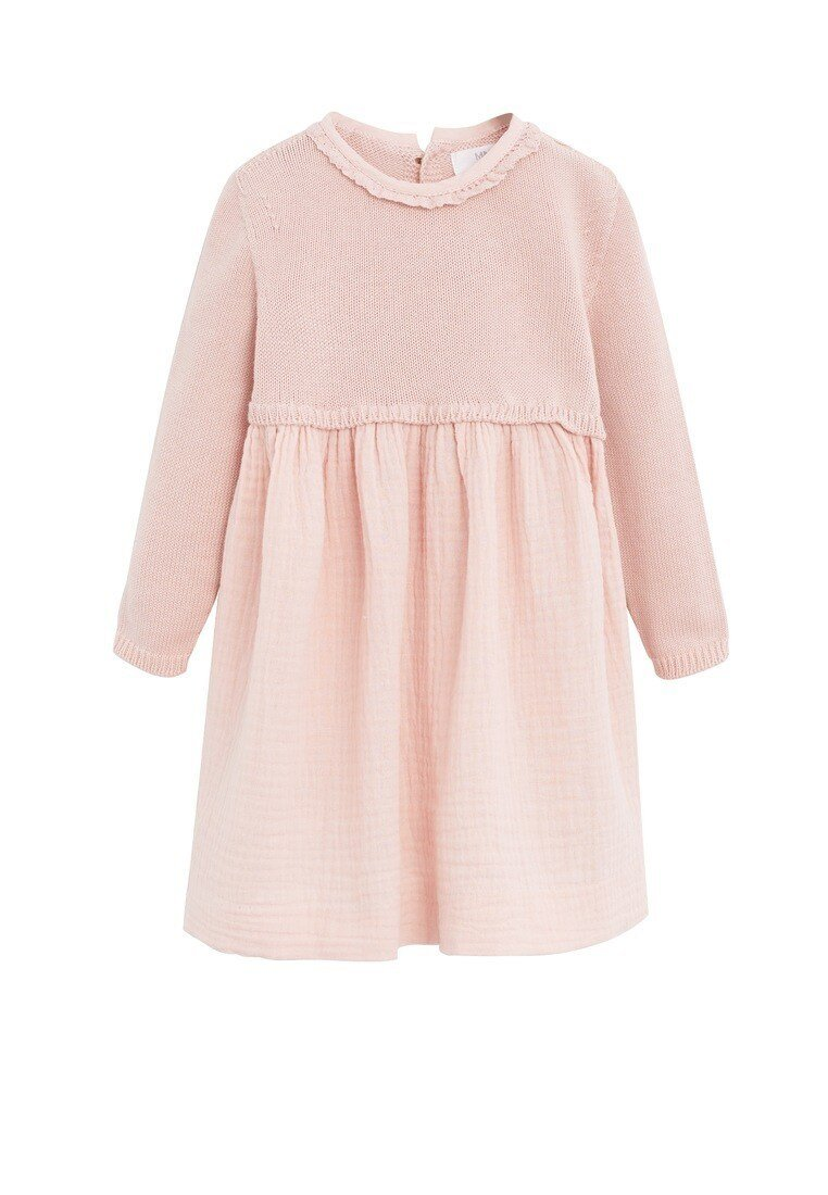Mango - PARIS - Korte jurk - rosa