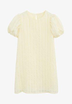BELEN - Day dress - jaune pastel