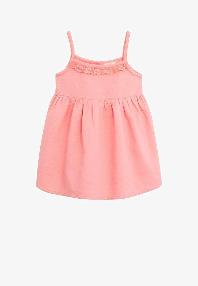 LINDA - Korte jurk - rosa