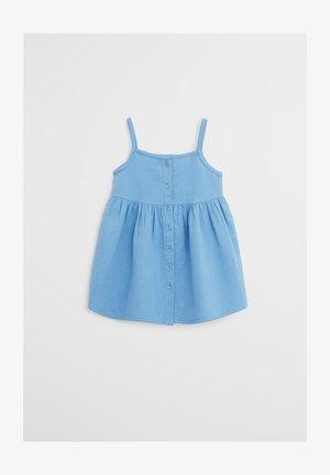 LINDA - Korte jurk - blu