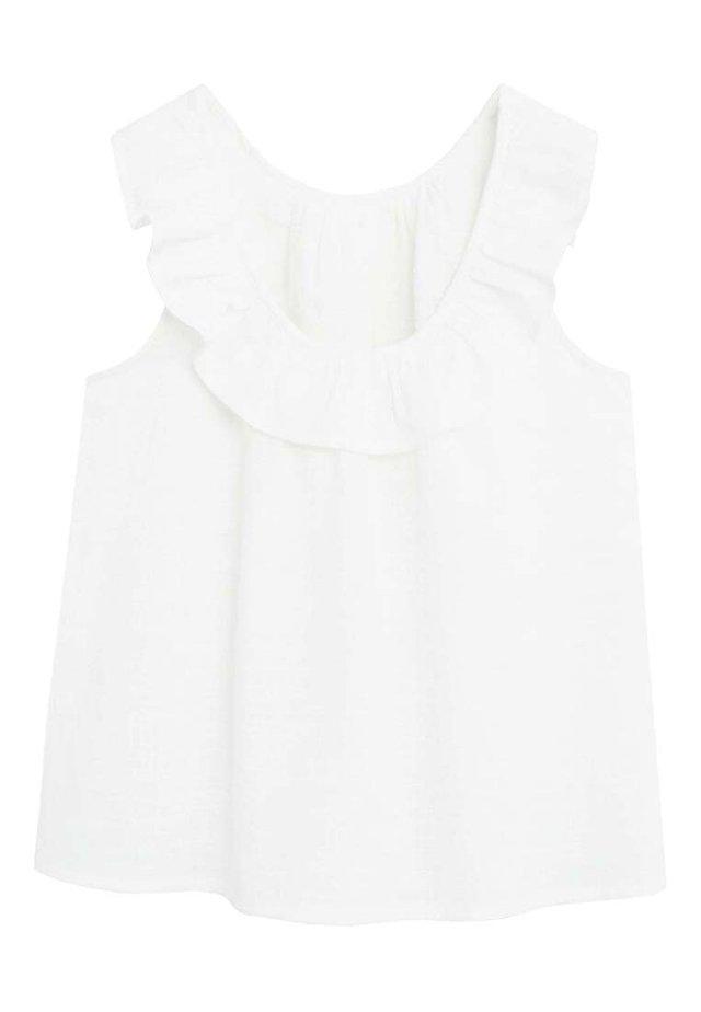 GERANIO - Camicetta - white
