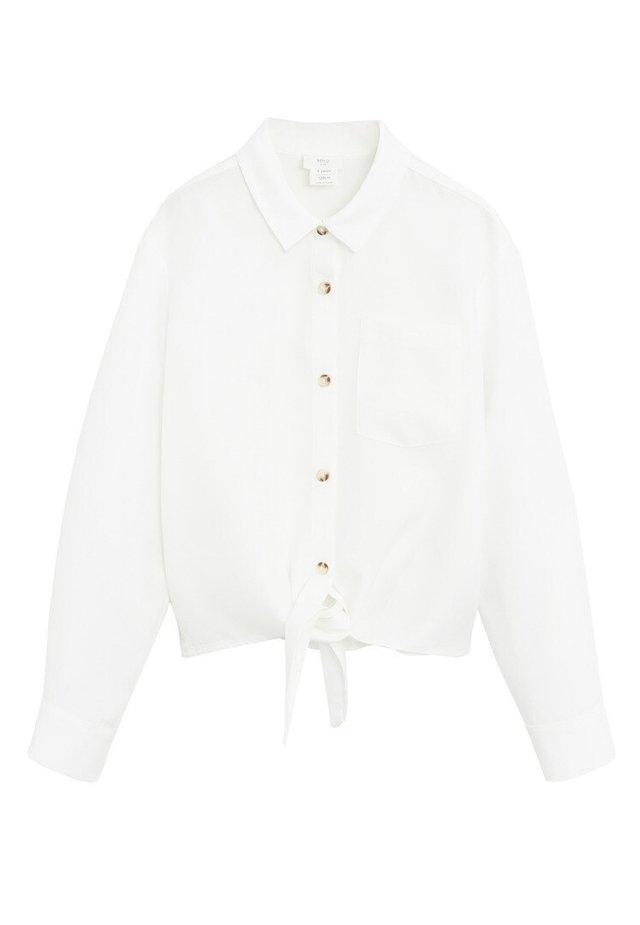LAZO - Camicia - weiß