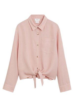 LAZO - Button-down blouse - rosa