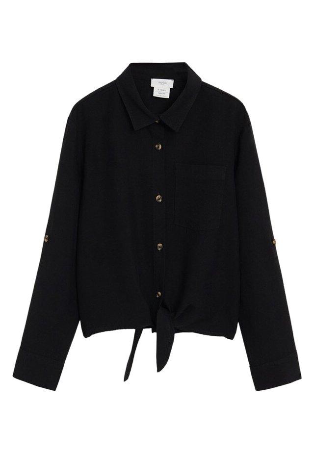 LAZO - Overhemdblouse - schwarz