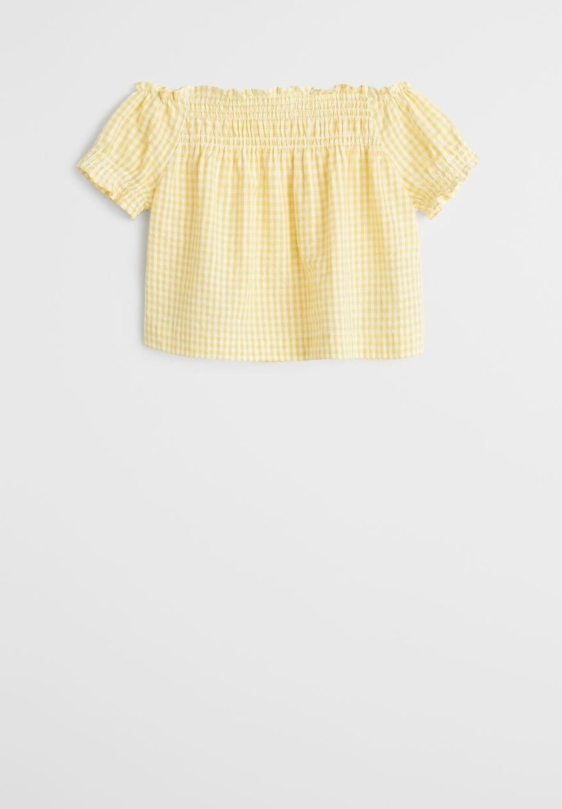 Mango - LAIA-H - Bluse - gelb