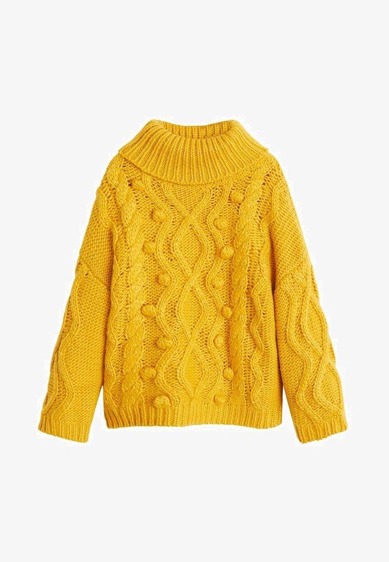 Mango - LUNA - Jumper - mustard yellow