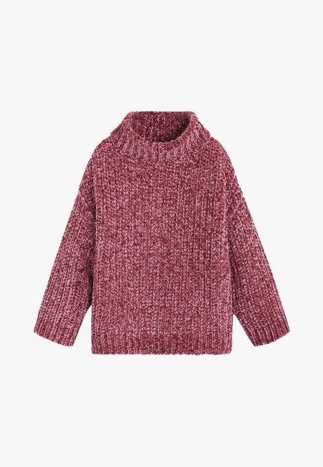 CHENOA - Stickad tröja - bordeaux