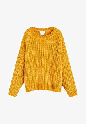 BISBAL - Strikpullover /Striktrøjer - mustard yellow