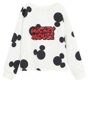 MICKEY MOUSE-SWEATSHIRT MIT PAILLETTEN - Sweatshirt - schwarz