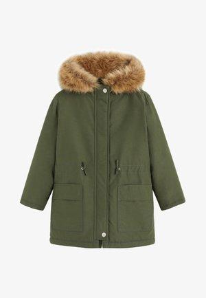 FLAP - Winter coat - khaki