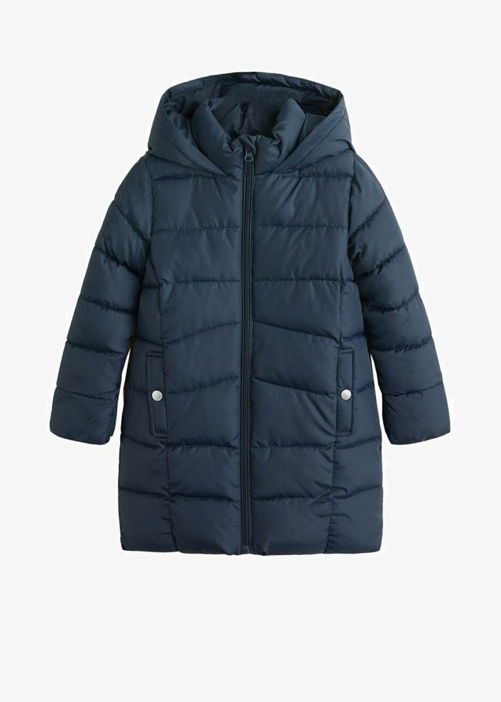 Mango - ALILONG - Winter coat - dark navy blue